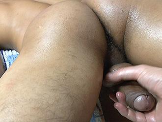 Naked boy massage