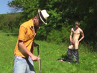 Naked gay boys sex adventures in the country